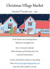 Hemingford Christmas Village Market