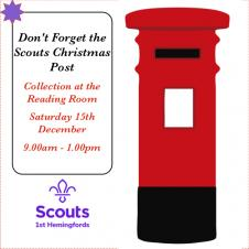 Last Chance for Scouts Xmas Post!