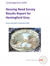 Council Meeting Monday 8th April, 7.30 pm - Housing Need Survey
