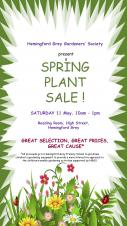 Hemingford Grey Gardeners' Society Spring Plant Sale