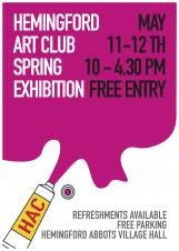 Hemingford Art Club Spring Exhibition