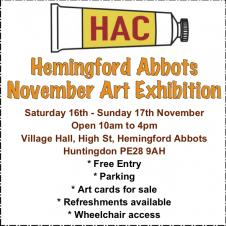 Hemingford Abbots Art Exhibition