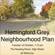 Hemingford Grey Neighbourhood Plan