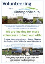 Volunteering with Huntingdon District Council