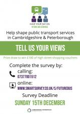 CPCA Bus Review Survey - Have Your Say