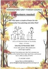Community Tree Planting and Litter Pick