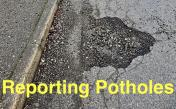 Reporting Potholes