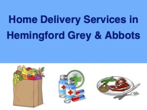 Home Delivery Services for the Hemingfords
