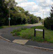 Speed Sign Relocated to Marsh Lane.