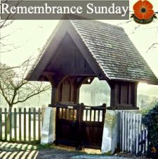 Remembrance Sunday - Sunday 8th November 2020